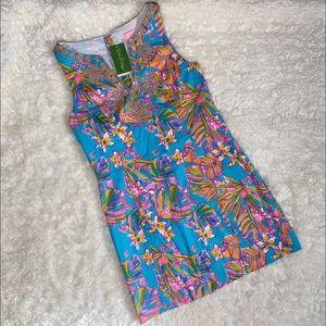 NWT Lily Pulitzer Gabby Shift Dress Summer Haze